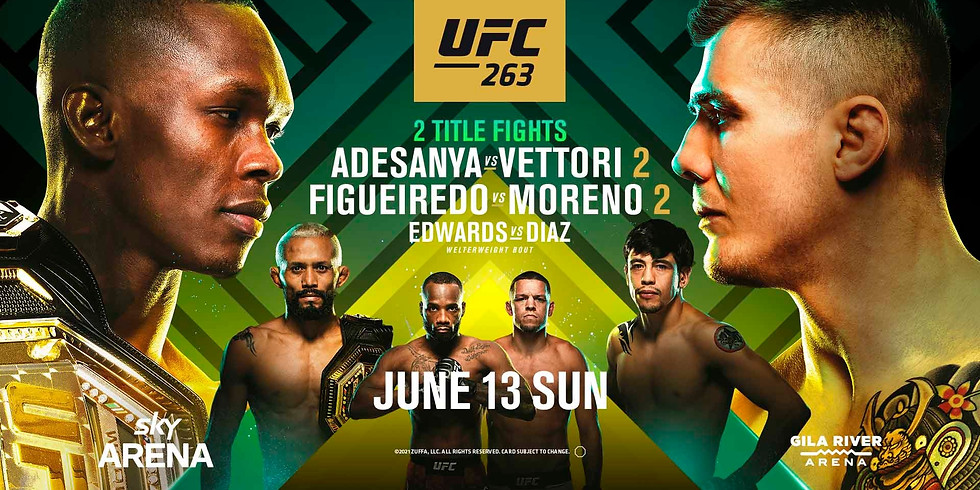 UFC 263 Live at Mogly | 2 Title Fights