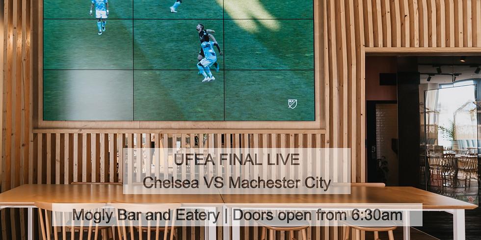 UEFA Champions League Finals Man City V Chelsea