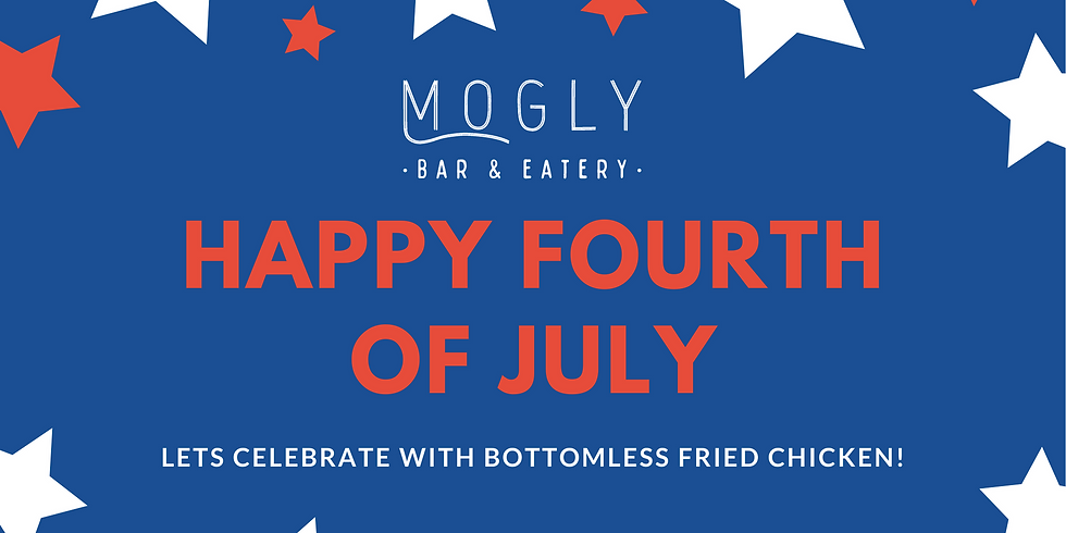 4th of July Celebrations at Mogly Bar & Eatery