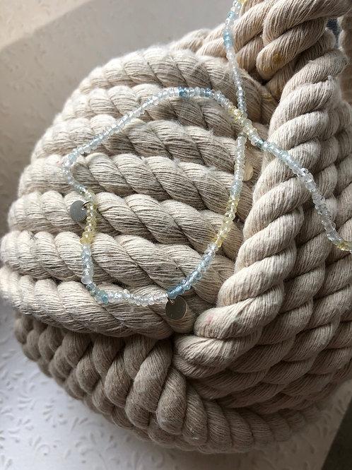 Collier Beryll / Aquamarine