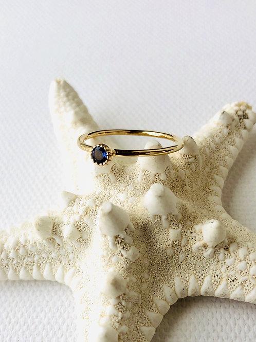 Ring - Lolith (Wassersaphir)