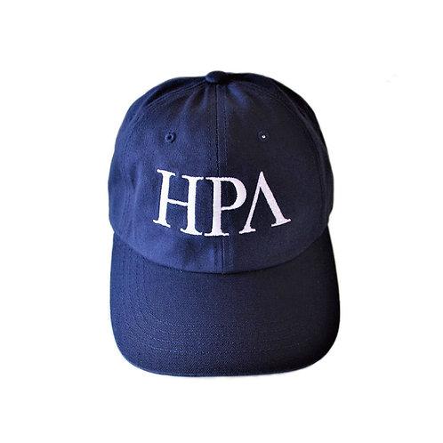 ''HPA''LOGO STRAPBACK CAP [ネイビー]