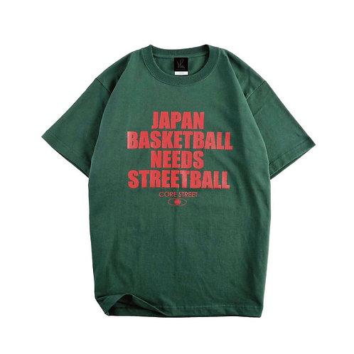 CORE STREET ''JAPAN BASKETBALL NEEDS STREETBALL''「フォレストグリーン」