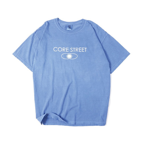CORE STREET ''LOGO T-SHIRTS'' [FLO BLUE] [コア・ストリート・ロゴTシャツ] [フロー・ブルー]