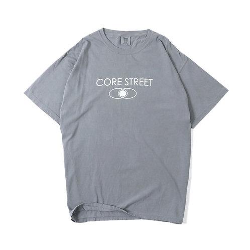 CORE STREET ''LOGO T-SHIRTS'' [GREY] [コア・ストリート・ロゴTシャツ] [グレー]