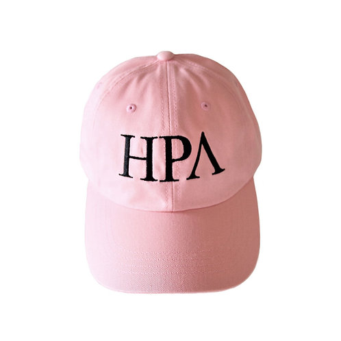 ''HPA''LOGO STRAPBACK CAP [ライトピンク]
