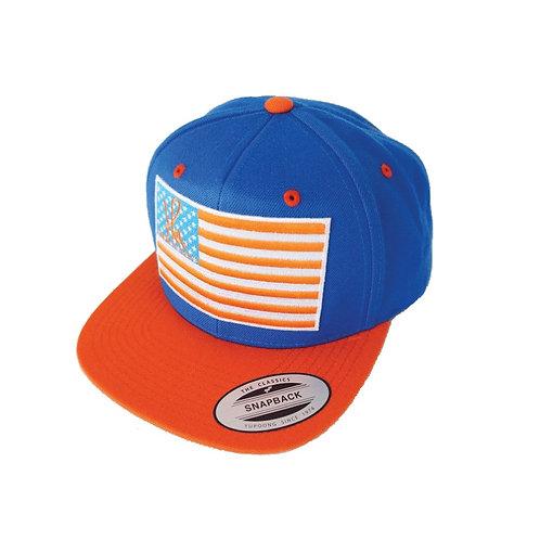 ''HPA-AMERICAN-AFRICAN-FLAG'' SNAPBACK CAP