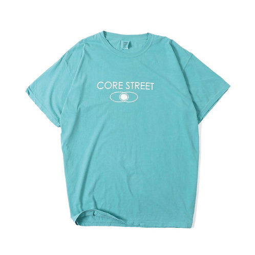 CORE STREET ''LOGO T-SHIRTS'' [SEA FOAM] [コア・ストリート・ロゴTシャツ] [シー・フォーム]