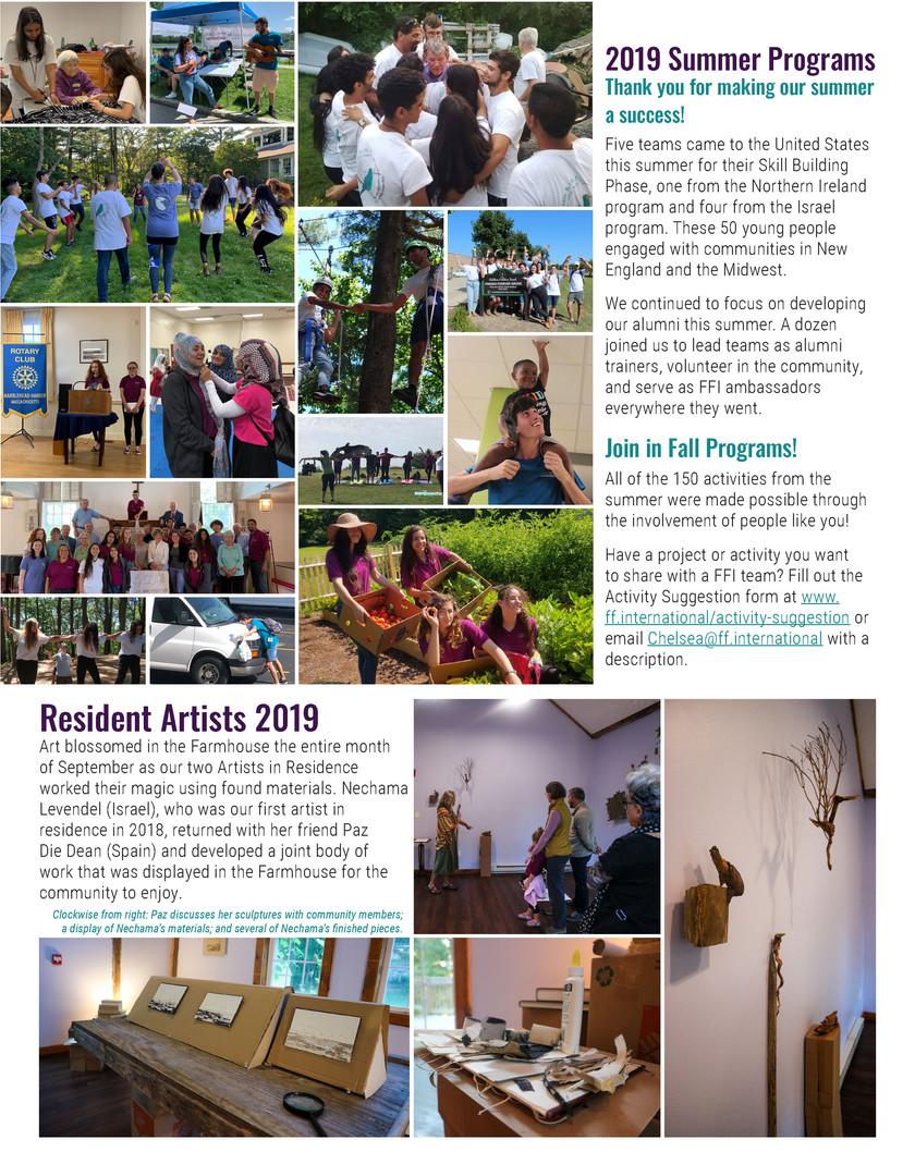 Fall Newsletter 2019