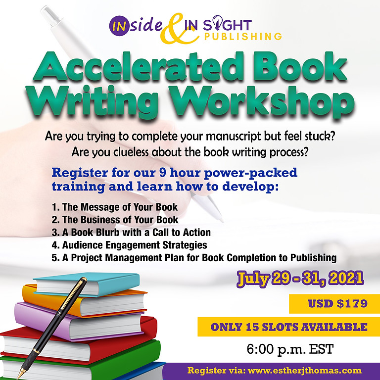 Accelerated Book Writing Workshop