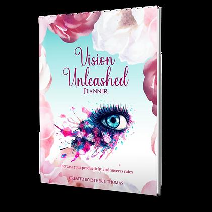 Vision Unlimited Planner (Blue Paperback)