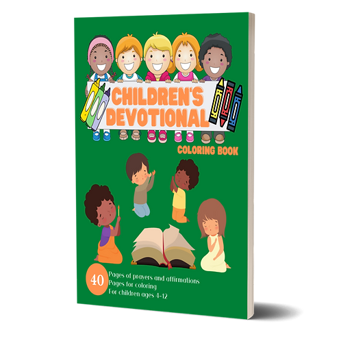 Children's Devotional Coloring Book: For Children Ages 4-12