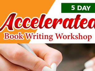 5 Day Accelerated Book Writing Workshop