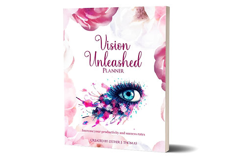 Vision Unlimited Planner (White Paperback)