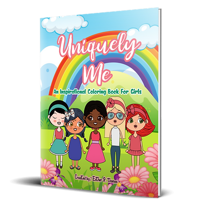 Uniquely Me: An Inspirational Coloring Book for Girls
