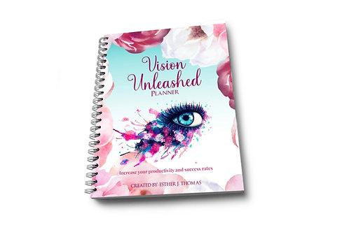 Vision Unlimited Planner (Blue + Spiral)
