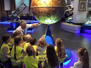 Первая экскурсия с классом в Планетарий