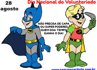 Dia do Voluntariado - 28 de agosto