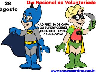 Dia do Voluntariado - 28 de agosto