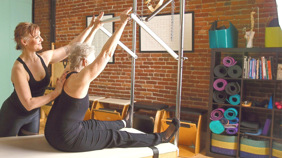 Private Pilates Lessons in Seattle