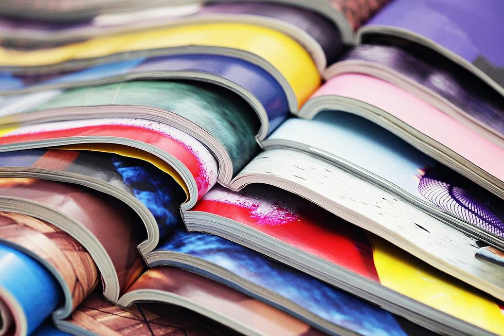 magazines bouquins