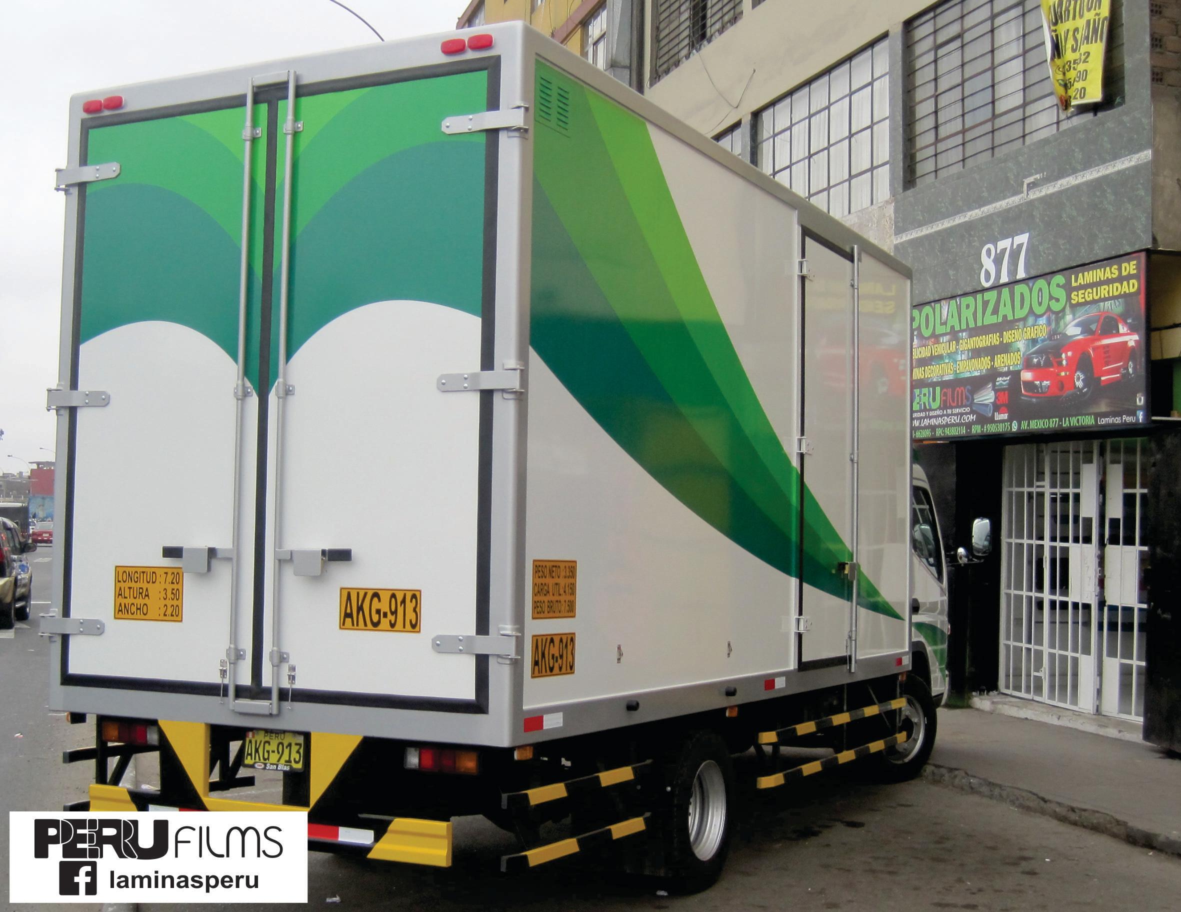 ROTULADO DE CAMION LIMA PERU