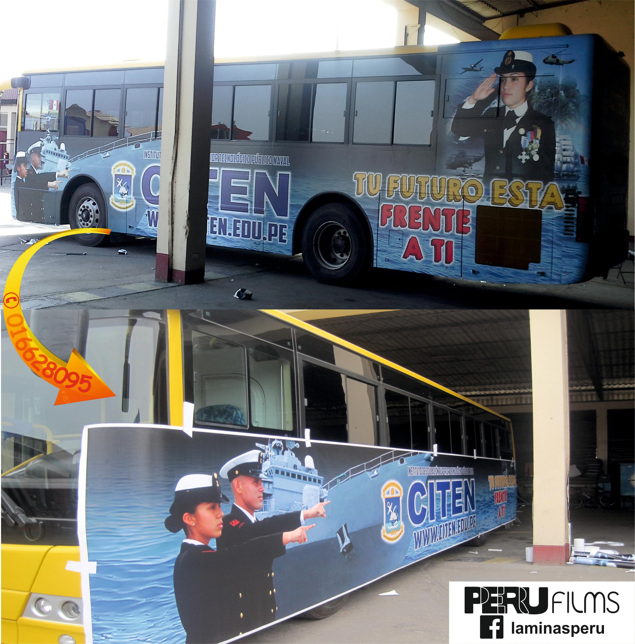 BRANDEO DE BUS LIMA PERU