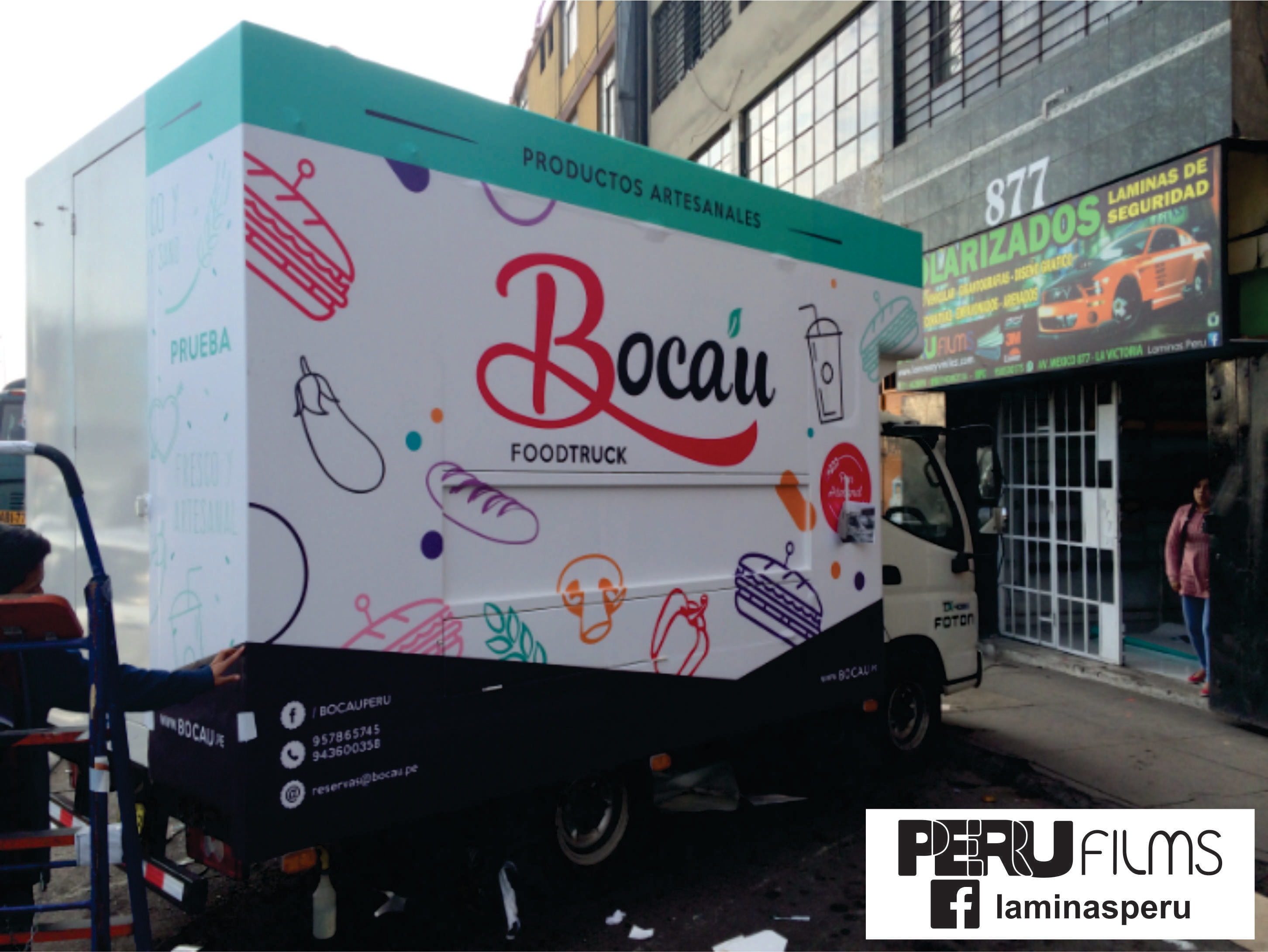 PLOTEO FOOD TRUCK LIMA PERU