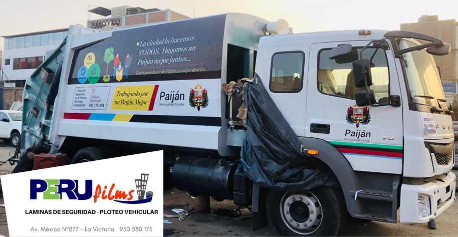 REVESTIMIENTO DE FLOTAS VEHICULARES LIMA PERU