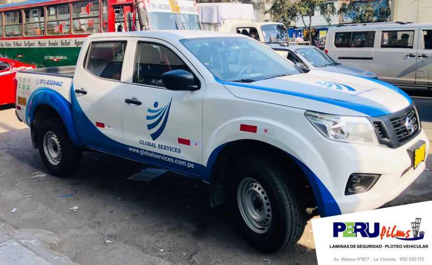 Ploteo de Nissan Frontier Lima Peru