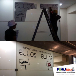 VINIL ROTULADO PLOTTER DE CORTE LIMA PERU