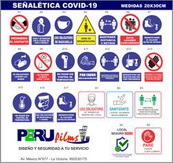 SEÑALES DE SEGURIDAD COVID19 LIMA PERU