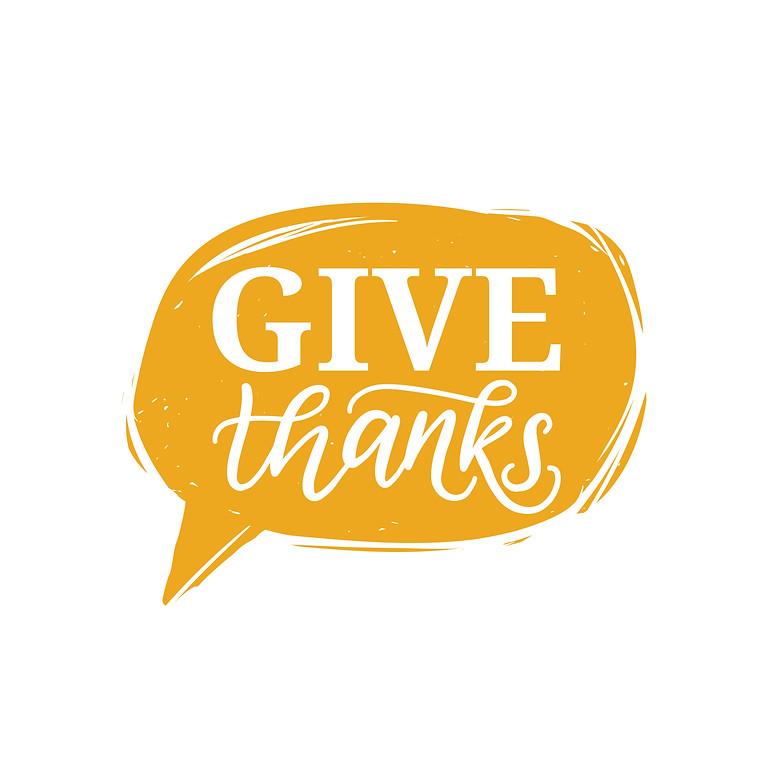 Sunday Service Give Thanks