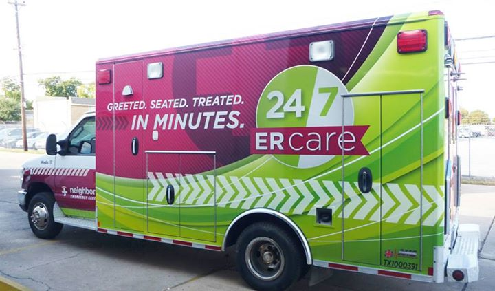 Full Wrap for Neighbors Emergency Center