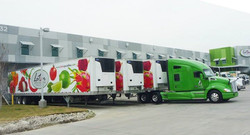 Full Wrap on Box truck for Latin Specialties