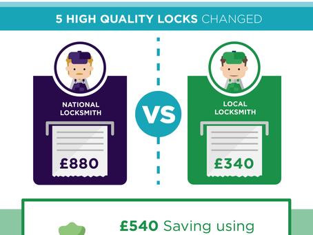 National Locksmith vs Local Locksmith: The Facts