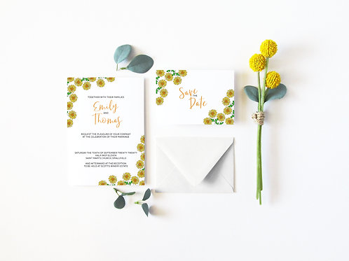 The Daisy Invitation