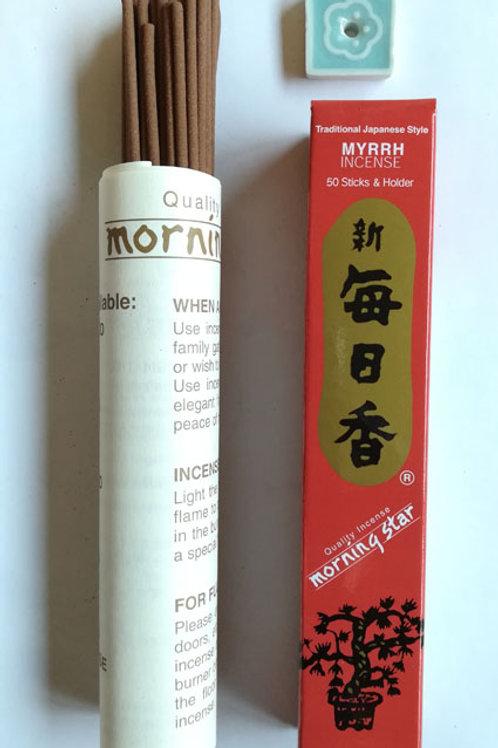 Encens japonais MYRRHE