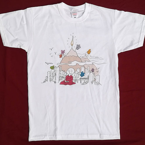 """TEE-SHIRT """"Montagne"""" (Taille S)"""