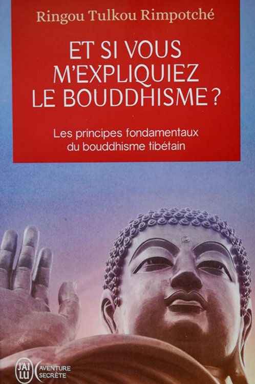 Et si vous m'expliquiez le bouddhisme