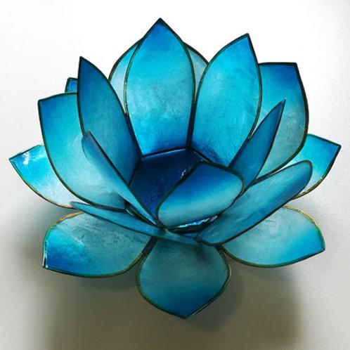 Photophore Lotus Bleu