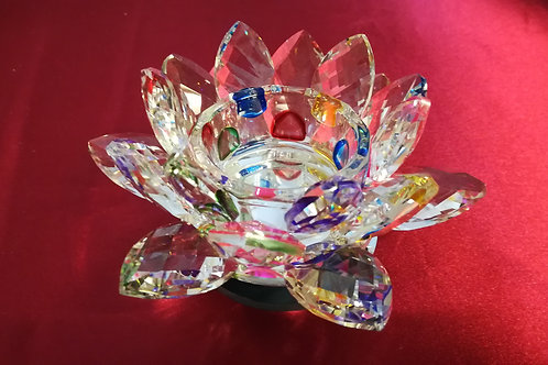 LOTUS cristal (Bougeoir)