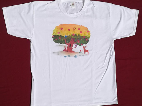 """TEE-SHIRT """"Arbre"""" (Taille M)"""