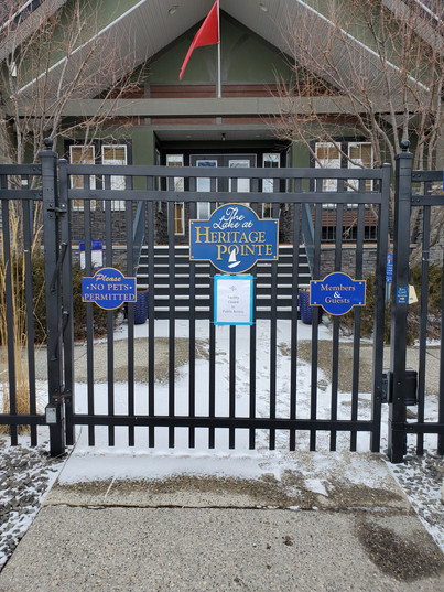COVID-19 Heritage Lake Facilities Update