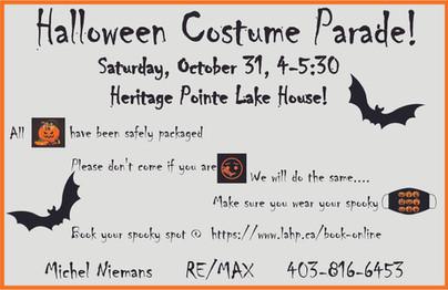 Kids Halloween Costume Parade!