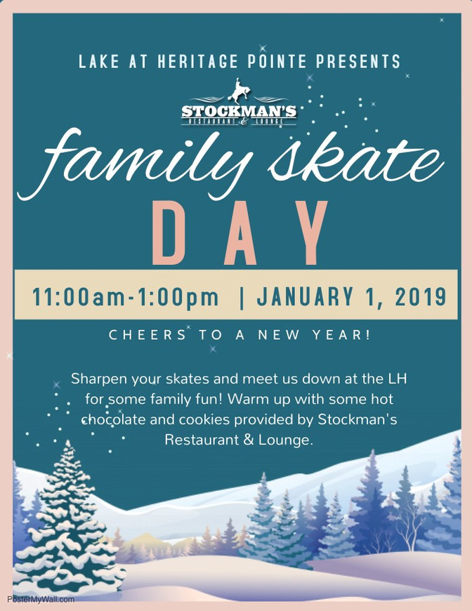 New Year's Family Skate Day!