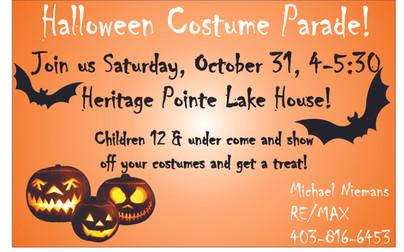 Halloween Costume Parade!