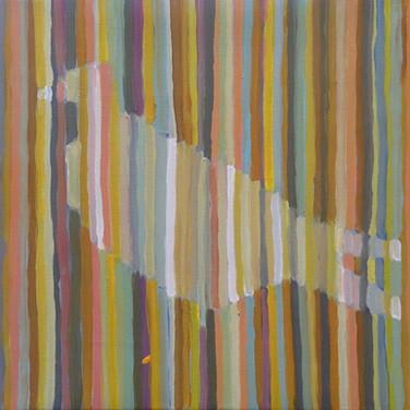 akryl na plátně,   40 x 40  2017