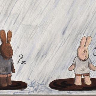 Proměna špinavého králíčka