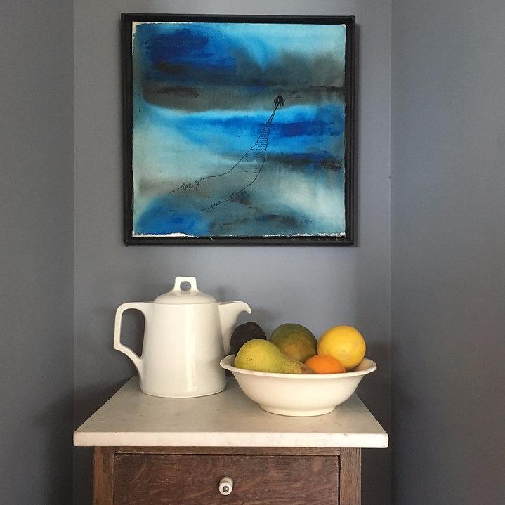 ocean blue art Gootjes textile